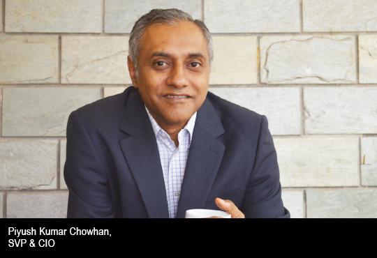 Piyush Kumar Chowhan, SVP & CIO, Arvind Fashion Limited