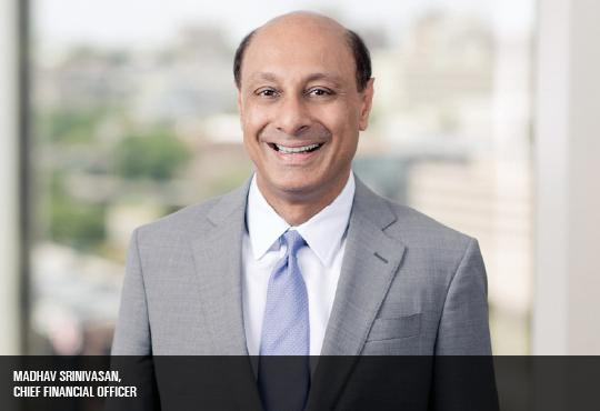 Madhav Srinivasan, Chief Financial Officer, Hunton Andrews Kurth LLP