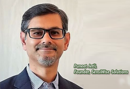 Puneet Jetli, Founder, SensiWise Solutions