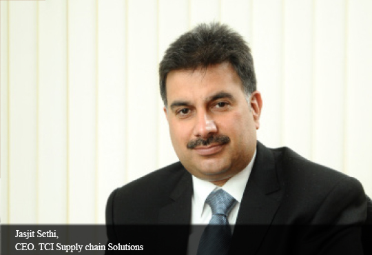 Jasjit Sethi, CEO. TCI Supply Chain Solutions